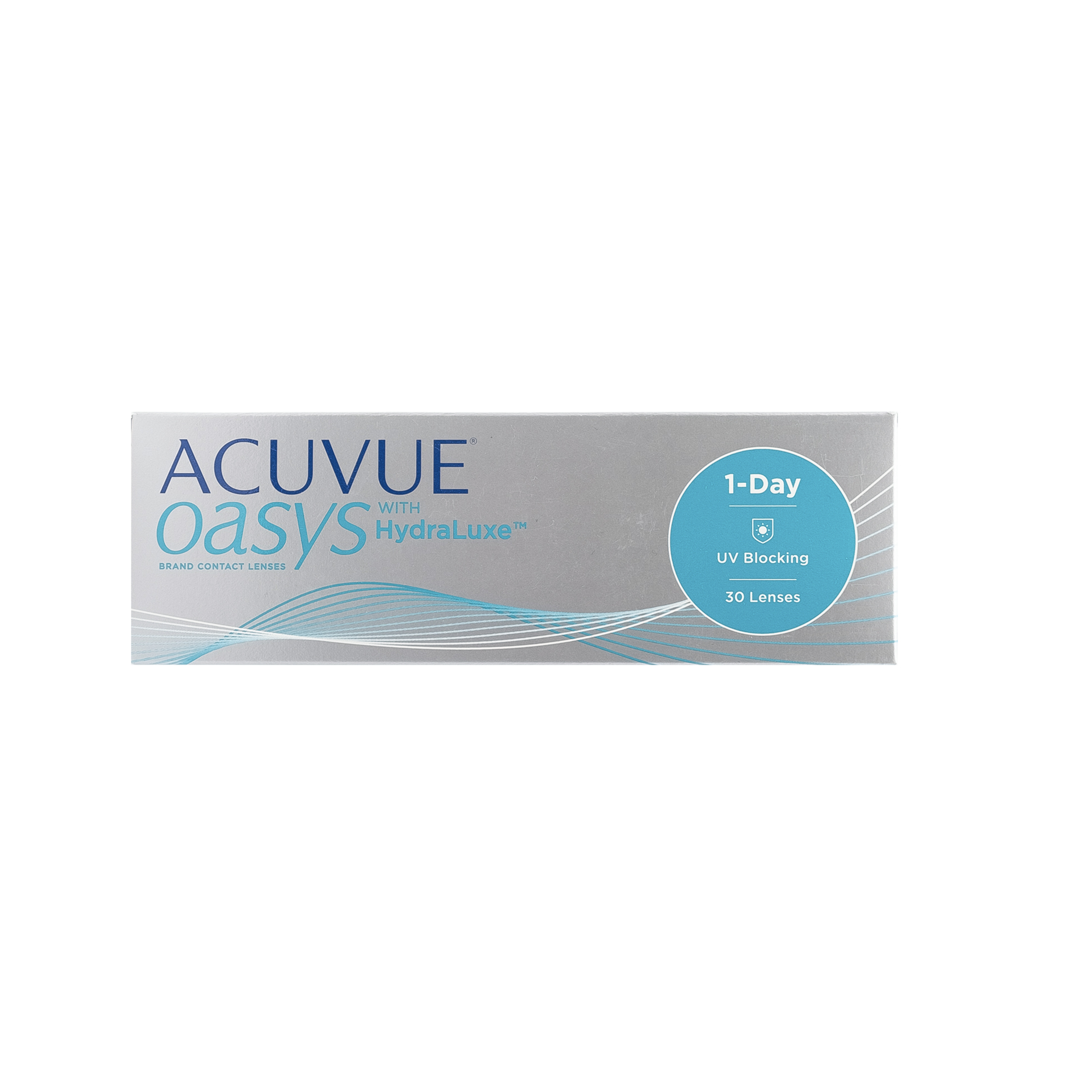 Cиликон-гидрогелевые линзы Acuvue Oasis 1-Day with HydraLuxe